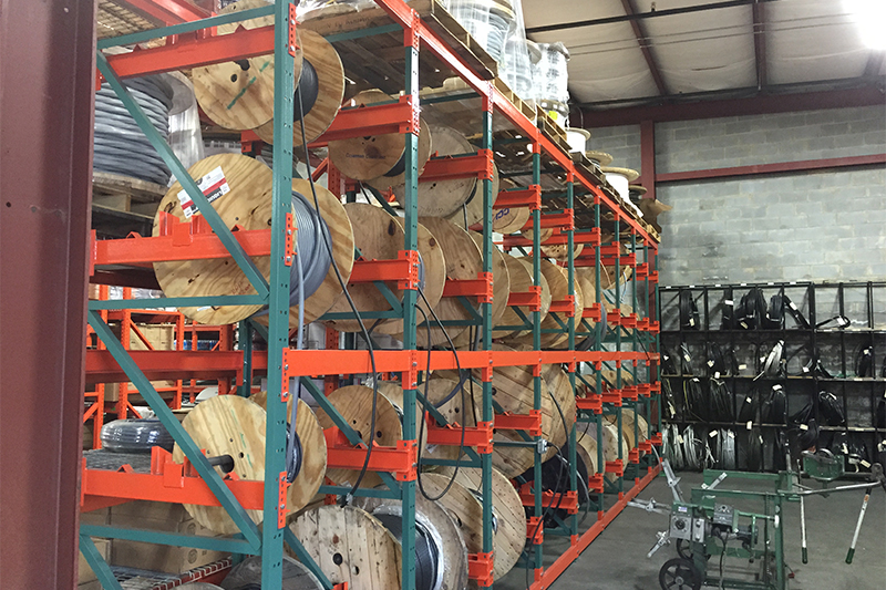 Wire Reel & Coil Racking