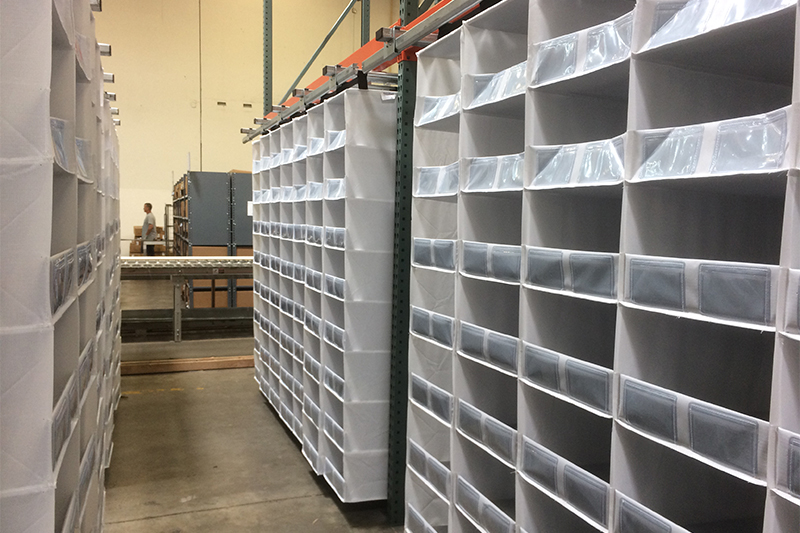High Bin Density Racking